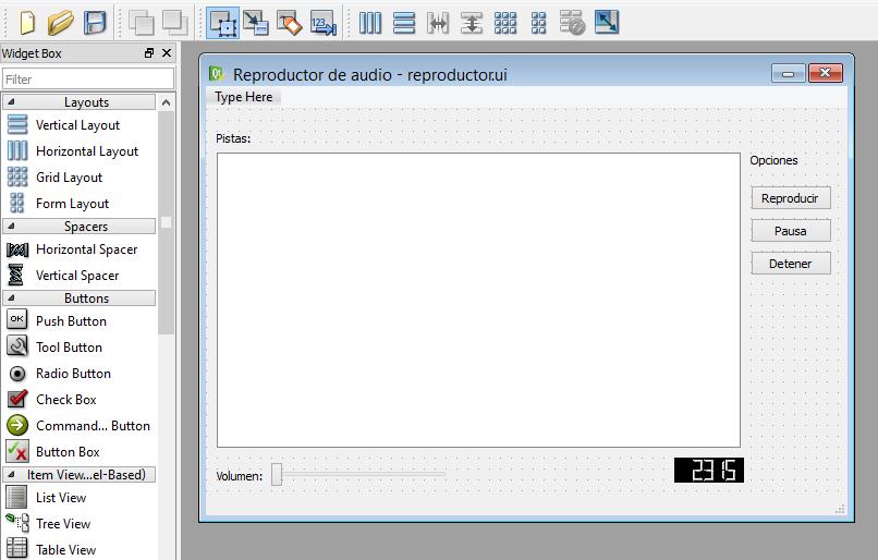 Convertir archivo de Qt Designer ( ui) a código de fuente