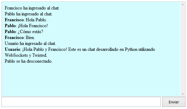 Chat con WebSockets