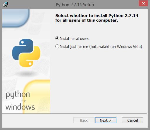 Instalador de Python