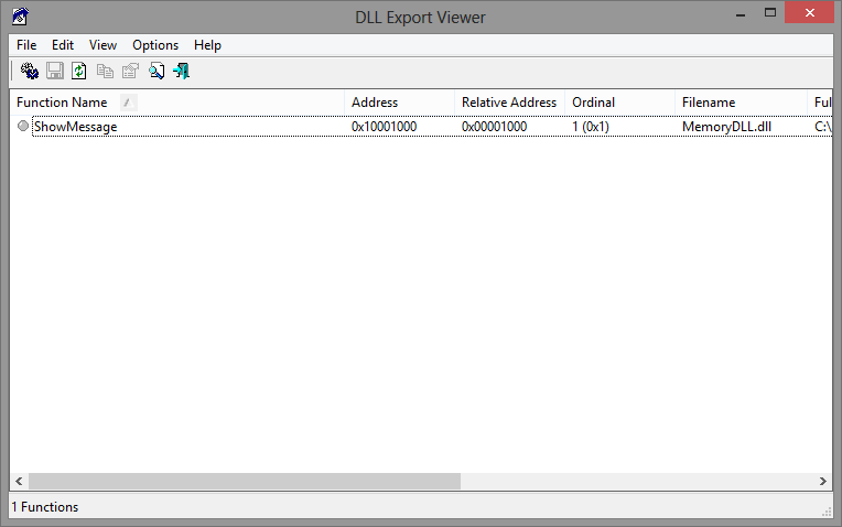 DLL Export Viewer
