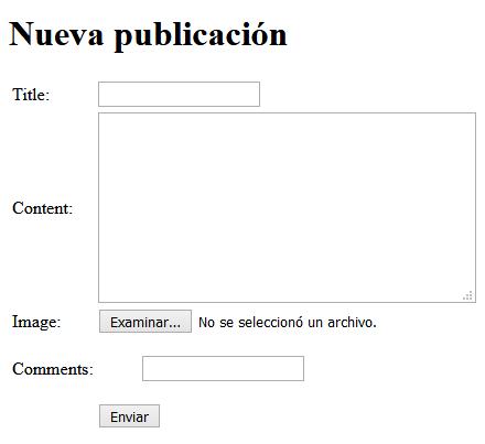 Formulario web2py