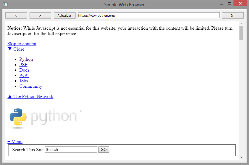 Interceptar carga de recursos en Qt WebEngine (PyQt 5)